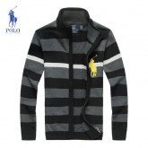 Gilet Polo Homme Col montant Soldes Chez