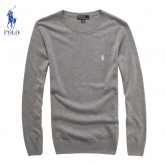 Pull Polo Ralph Lauren Homme Gris Col rond Pas CheRe