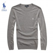 Pull Polo Homme Col rond Manches Longue Pures Couleurs Outlet