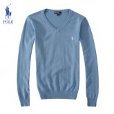 Pull Polo Homme Col V Manches Longue En Ligne