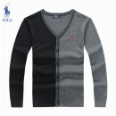 Gilet Polo Homme Col V Manches Longue Magasin France