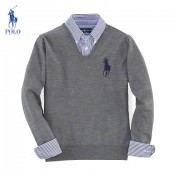 Gilet Polo Homme Col V Pures Couleurs Pas Chere