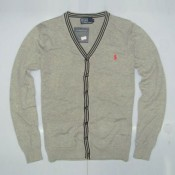 Gilet Polo Homme Manches Longue Col V Blanc Soldes Pas Cher