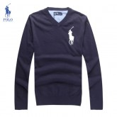 Pull Polo Homme Col V Manches Longue Boutiques Paris
