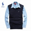 Pull Polo Homme Bleu Soldes Pas Cher