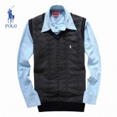 Pull Polo Homme Col V Pures Couleurs Achat Pas Cher