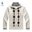 Pull Polo Ralph Lauren Homme Blanc Multicolor Magasin