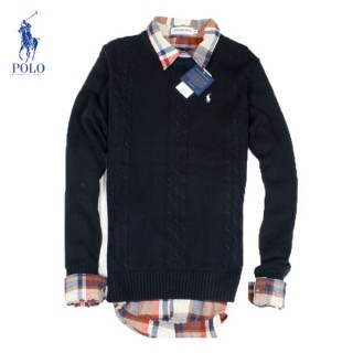 Pull Polo Ralph Lauren Homme Col rond Pures Couleurs Soldes Chez