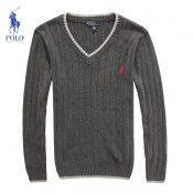 Pull Polo Homme Col V Manches Longue Pures Couleurs Acheter Pas Cher