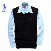 Pull Polo Homme Col V San Manches Pures Couleurs Outlet Online