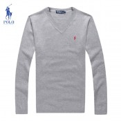 Pull Polo Homme Gris Outlet
