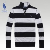 Pull Polo Homme Gris Multicolor Magasin D Usine