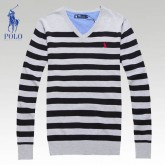 Pull Polo Homme Manches Longue Noir Pas Cher France