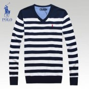 Pull Polo Homme Manches Longue Rayures Boutique Pas Cher