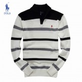 Pull Polo Homme Multicolor Blanc Pas Cher Fr