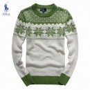 Pull Polo Homme Multicolor Col rond Blanc Marque Pas Cher