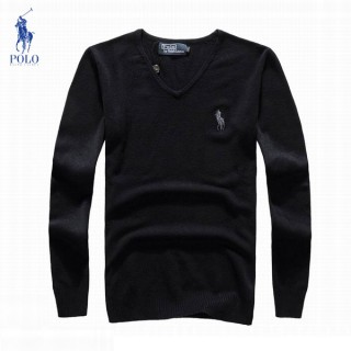 Pull Polo Homme Pures Couleurs Manches Longue Col V Boutique Lille
