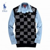 Pull Polo Homme San Manches Multicolor Pas Cher France